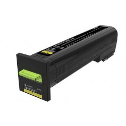 Cartouche de toner Return Program Jaune LEXMARK pour CX825de, CX860de...