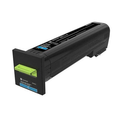 Cartouche de toner Return Program Cyan LEXMARK pour CX825de, CX860de...