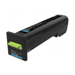 Cartouche de toner Return Program Cyan LEXMARK pour CS820de, CX820de...