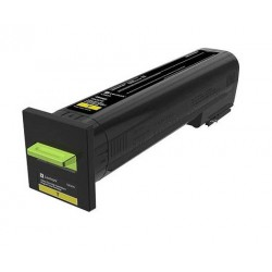 Cartouche de toner Return Program Jaune LEXMARK pour CS820de, CX820de...