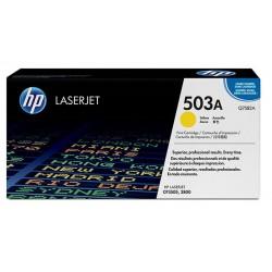 Toner Jaune Haute Capacité HP pour Color Laserjet 3800 / CP3505 (503A)