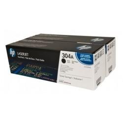 Boite de 2 Toners noir  HP pour laserjet CP2020/CP2025/CM2320MPF (304A)