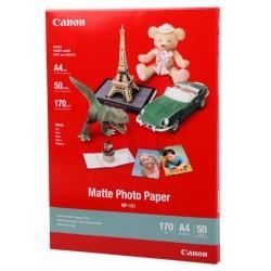 Canon Pack 50 feuilles papier photo mat A4 (MP101) - 170g