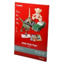 Canon Pack 40 feuilles papier photo mat A3 (MP101) - 170g