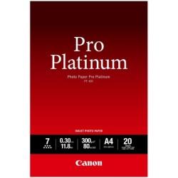 Canon PT-101 Pack 20 feuilles papier photo professionnel A4 (PT101) - 300g
