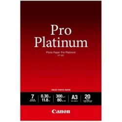 Canon PT-101 Pack 20 feuilles papier photo professionnel A3 (PT101) - 300g