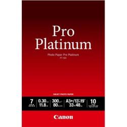Canon PT-101 Pack 10 feuilles papier photo professionnel A3+ (PT101) - 300g