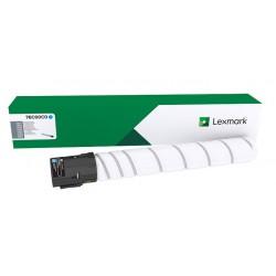Cartouche toner Cyan Lexmark CS923, CX923, CX924, ... (capacité standard)