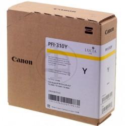 Cartouche d'encre Jaune Canon pour Image Prograf TX2000, TX3000 ... (PFI310Y)