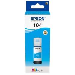 Cartouche Cyan Epson pour EcoTank ET2710... (N°104)