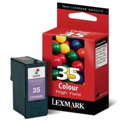 Cartouche Lexmark n° 35 Couleur Longue Durée haute résolution