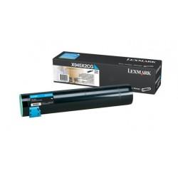 Toner cyan longue durée Lexmark pour 940e / 945e