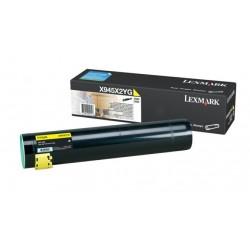 Toner jaune longue durée Lexmark pour 940e / 945e
