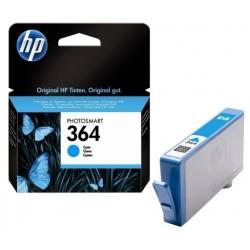 Cartouche cyan HP pour photosmart B8550 / C5380... (N°364 / N°178)