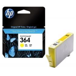 Cartouche jaune HP pour photosmart B8550 / C5380... (N°364 / N°178)