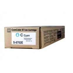 Cartouche d'encre cyan Riso pour ComColor 3110, 7150, 9150 (S6702)