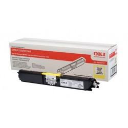 Toner jaune Oki pour C110 / C130 / MC160n