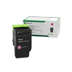 Toner magenta Lexmark pour CS421adn - CX421dn - CS521dn .... (return program)