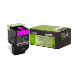 Toner Lexmark Magenta pour CX510...  (802XM)