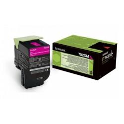 Toner Magenta Très haute capacité Lexmark pour CS510 (702XM)