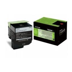 Toner Noir Très haute capacité Lexmark pour CS510 (702XK)