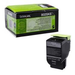 Toner noir Lexmark pour CX310n / CX410e ... haute capacité (802SKE)