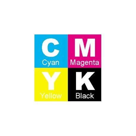 4 Toners (Tricolor + Noir) générique haute capacité pour Lexmark C540 / C543 ...