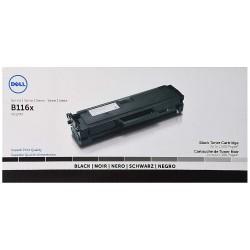 Toner noir DELL pour B1160w / B1165nfw (HF44N) (YK1PM)