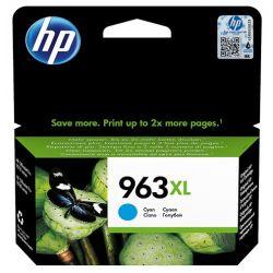 Cartouche jet d'encre Cyan Haute capacité HP pour Office Jet Pro 9010 / 9020 ....(N°963XL)
