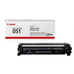 Cartouche toner Noir Canon pour imprimante I-Sensys LBP 162dw... (051)
