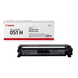 Cartouche toner Noir haute capacité Canon pour imprimante I-Sensys LBP 162dw... (051H)