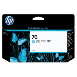 Cartouche cyan clair HP pour Designjet Z2100 / Z3100 (N°70)