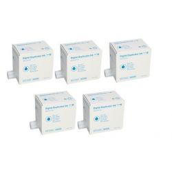 Pack 5 encres Bleu Ricoh pour JP4500 / DX4542 (Type IV)