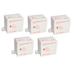 Pack 5 encres Rouge Ricoh pour JP4500 / DX4542 (Type IV)