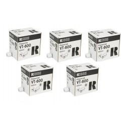 5 * Toners noirs Ricoh VT 600 pour RL937, RL937DX, VT1730