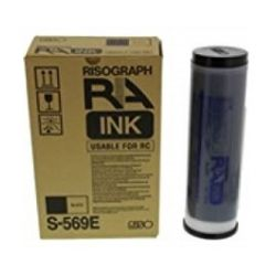 Pack 2 encre Noir Riso pour RA / RC série (S-569E)