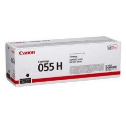 Cartouche Toner Noir haute capacité CANON pour I-Sensys LBP663Cdw ... (055H)