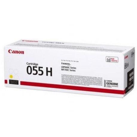 Cartouche Toner Jaune haute capacité CANON pour I-Sensys LBP663Cdw ... (055H)
