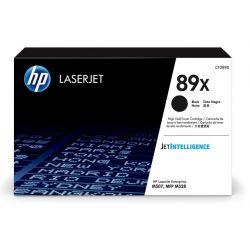 Toner noir haute capacité HP pour LaserJet Enterprise M507 / M528 ... (89X)