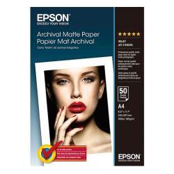 50 feuilles Papier Photo EPSON A4 - 192 gr - Finition Matte