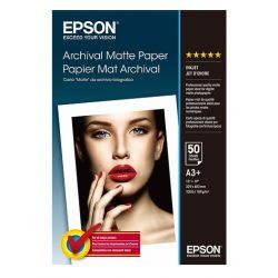 50 feuilles Papier Photo EPSON A3+ - 189 gr - Finition Matte