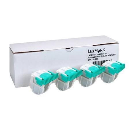 4 x cartouche d'agrafes Lexmark pour X950 / X952 / X954