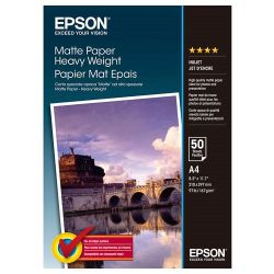50 feuilles de papier photo mat Epson A4
