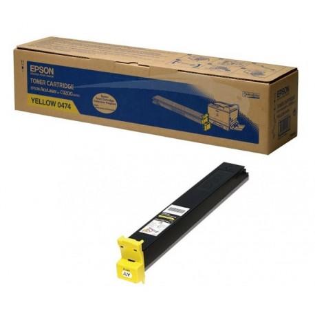 Toner jaune Epson pour aculaser C9200