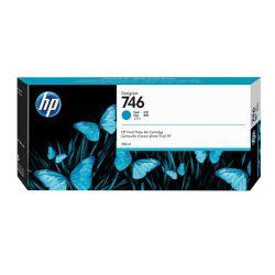 Cartouche Cyan HP pour Designjet Z6 - Z6dr - Z9+ ... (N°746)
