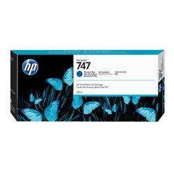 Cartouche Bleu Chromatique HP pour Designjet Z9+- Z9+ dr... (N°747)