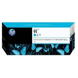 Cartouche cyan HP pour designjet Z6100 (N°91)