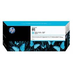 Cartouche cyan clair HP pour designjet Z6100 (N°91)
