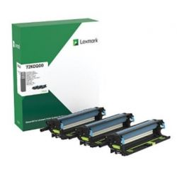 Pack 3 Photoconducteur (Tambour) Couleur LEXMARK pour CS820de, CX820de...(Return Program)