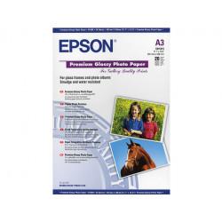 20 feuilles de papier photo brillant Epson A3  (255 gr)